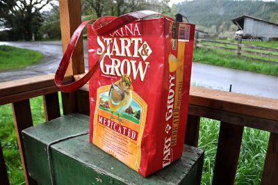 LuAnn Kessi: Feed Sack Tote Bag.....Tutorial