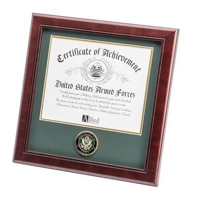 Army Certificate Frame with Army Medallion