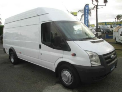 2010 Ford Transit VM High Roof LWB White 6 Speed Manual Van