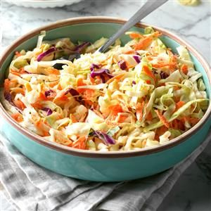 Pennsylvania Dutch Coleslaw Recipe -My mother used to make this salad on holidays. With all the cabbage that is grown here in the Northwest, the recipe is a real natural for us! —Deb Darr, Falls City, Oregon
