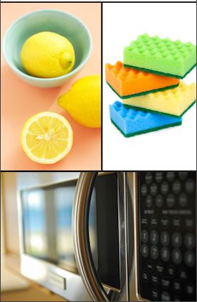 Come pulire il microonde
