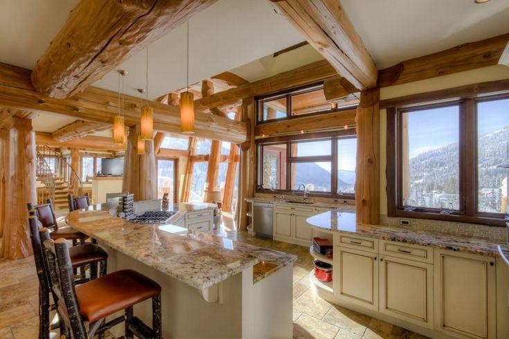 14 best log home interiors streamline images on for Streamline luxury suites