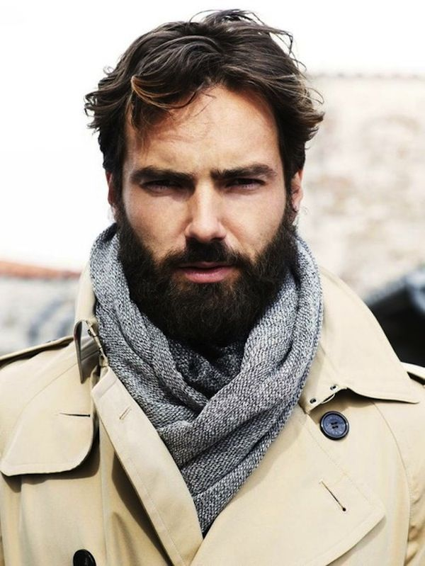 Hairstyles For Men With Beards 400 Best Bearded Guys Images On Pinterest  Beards Bearded Guys And