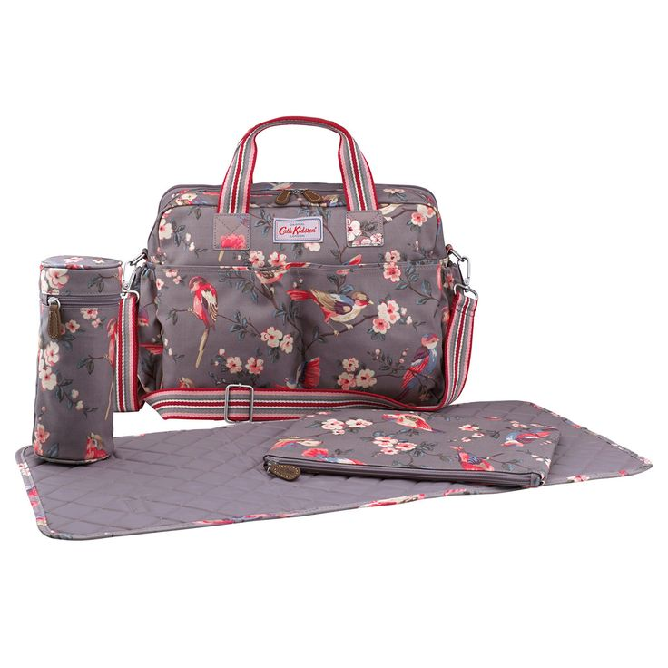 British Birds Double Pocket Nappy Bag | Cath Kidston |