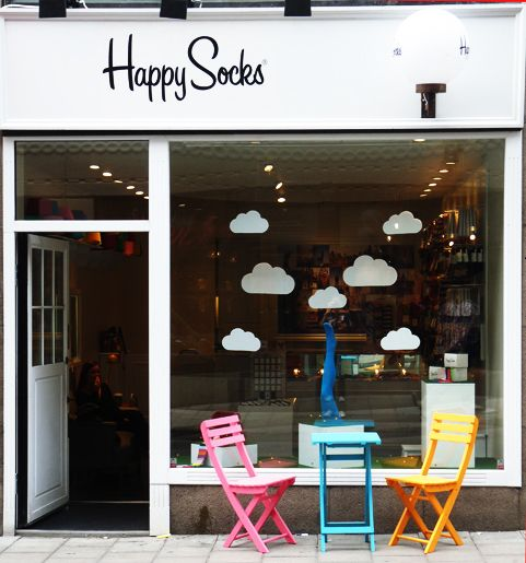 Happy Socks store in Stockholm