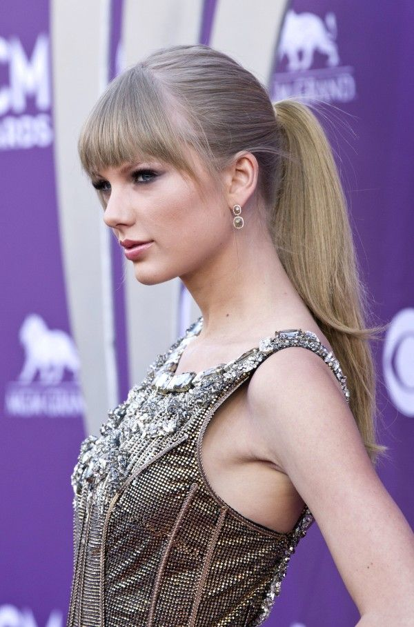 Image of taylor swift ponytail hairstyles for long hair