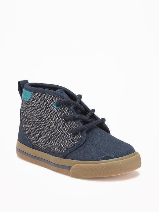 Navy Blue Shoe Sneakers Boot Boy Toddler