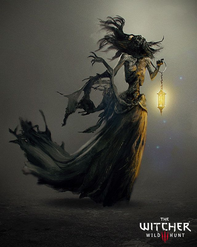 The Witcher 3: Nightwraith, Marek Madej on ArtStation at https://www.artstation.com/artwork/the-witcher-3-nightwraith