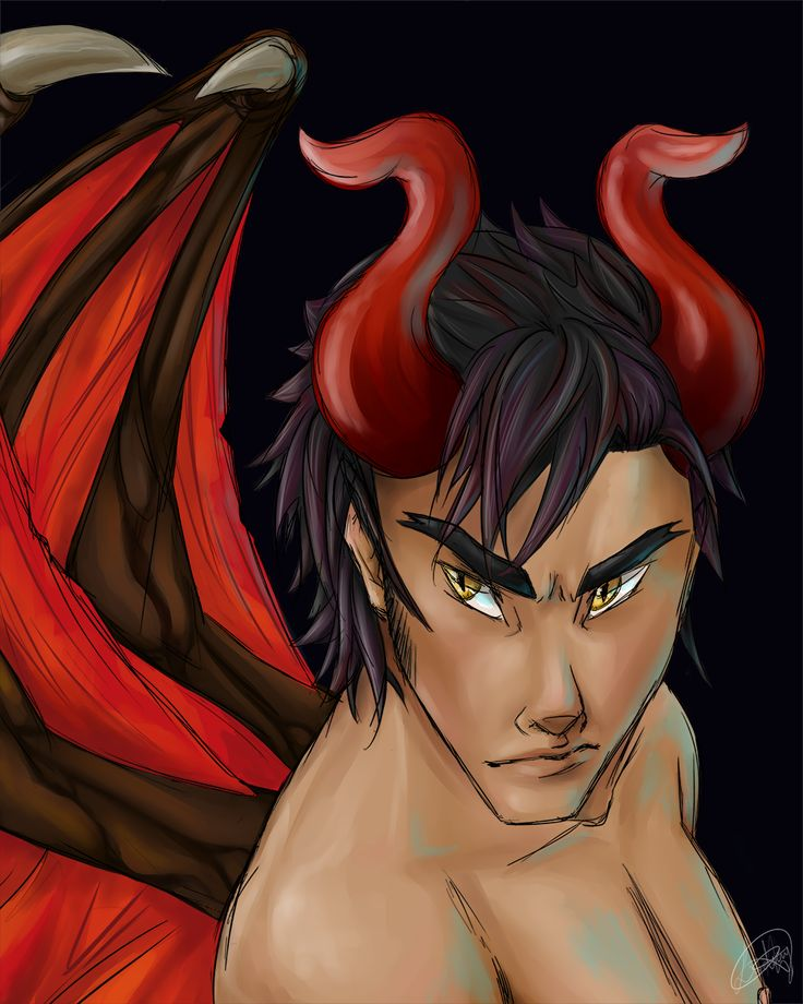 A Pride and Lust demon. An Incubus.