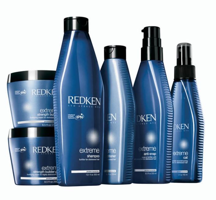 Extreme range - Her product to keep strong,shinny and healthy hair.