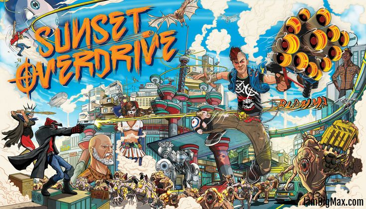 [Séance de Rattrapage] Sunset Overdrive (Xbox One)