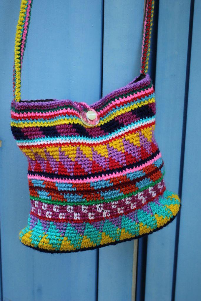 181 best Crochet - Purses images on Pinterest   Häkeltasche ...