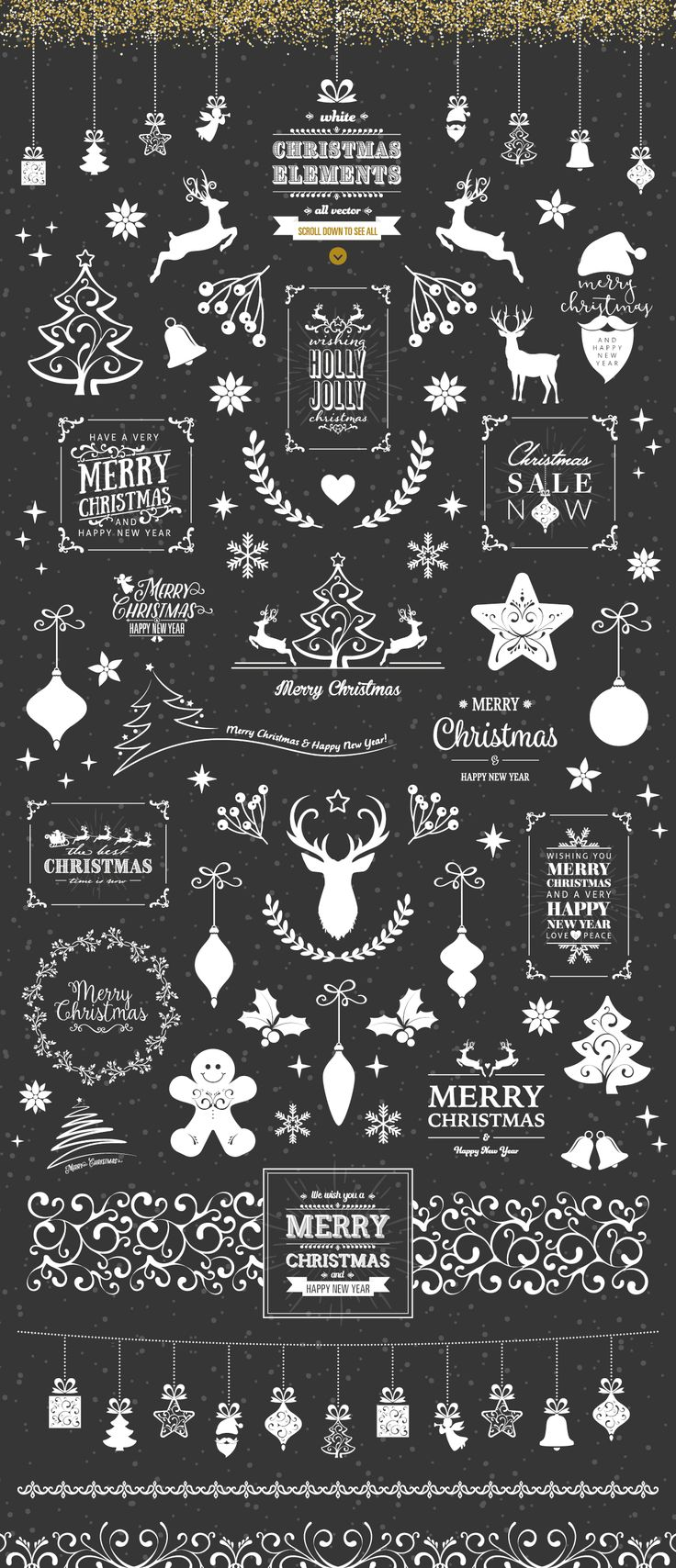 Ultimate Vector Christmas Collection example image 9