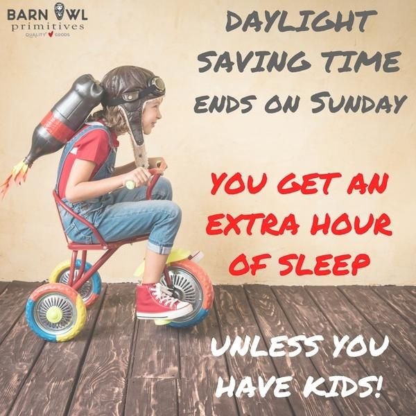daylight saving time - why it's the worst for parents!
