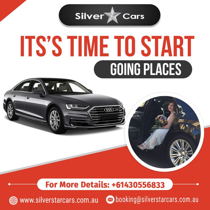 It's Time to Start Going Places in #Melbourne in cars of Silver Star Cars! Our f…