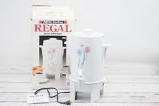 Vintage New 1991 Regal Poly Perk 10-20 Cup Electric Coffee Maker Model K7420 USA