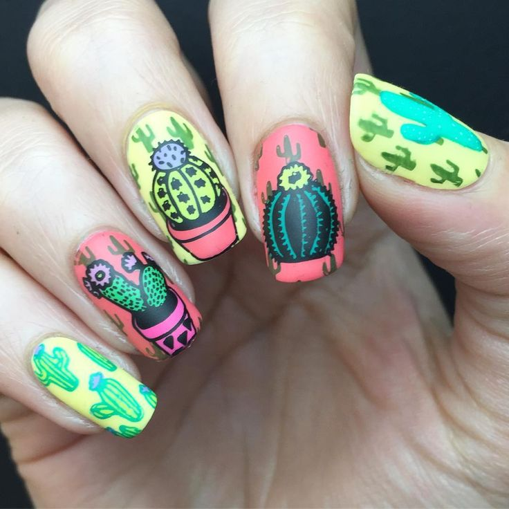 mexican nails ideas