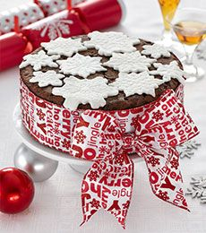 Rich Chocolate Fruit Cake - Cocoa gives a rounded mellow flavour to fruity Christmas cake, and remember a rich fruit cake only gets better with storage time. Make up to 1 month in advance. Time to put some fruit down now!