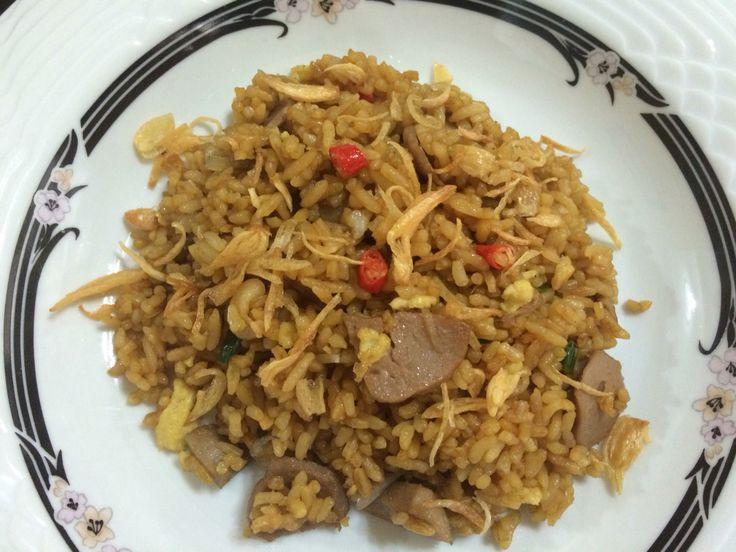 nasi goreng... our fave breakfast menu