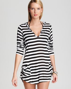 Ella Moss Swimsuit Cover Up - Portofino Hooded Tunic