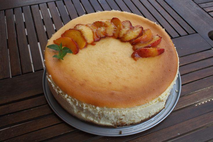 New York style cheesecake !