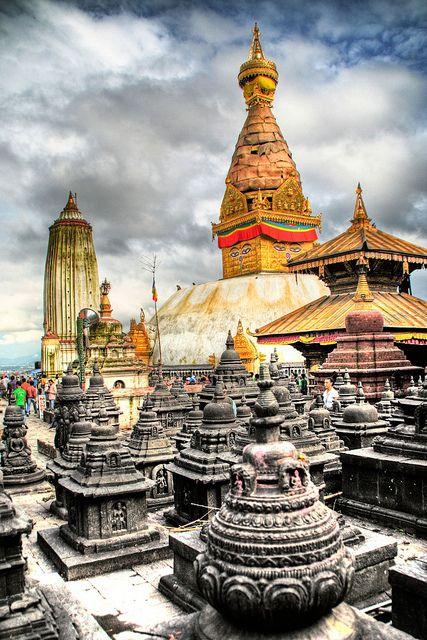 Swayambhunath, Kathmandu, Nepal BEAUTIFULLL!!