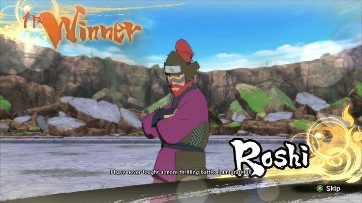 NARUTO SHIPPUDEN Ultimate Ninja STORM 4  老紫VS干柿鬼鮫 [Roshi vs Kisame]