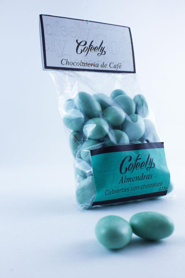 Almendras Cubiertas con Chocolate ideales para cualquier momento!! 125 gr $8.500