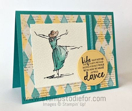 Sunday Sketches SS017 Beautiful You stamp set by Stampin Up www.stampstodiefor.com
