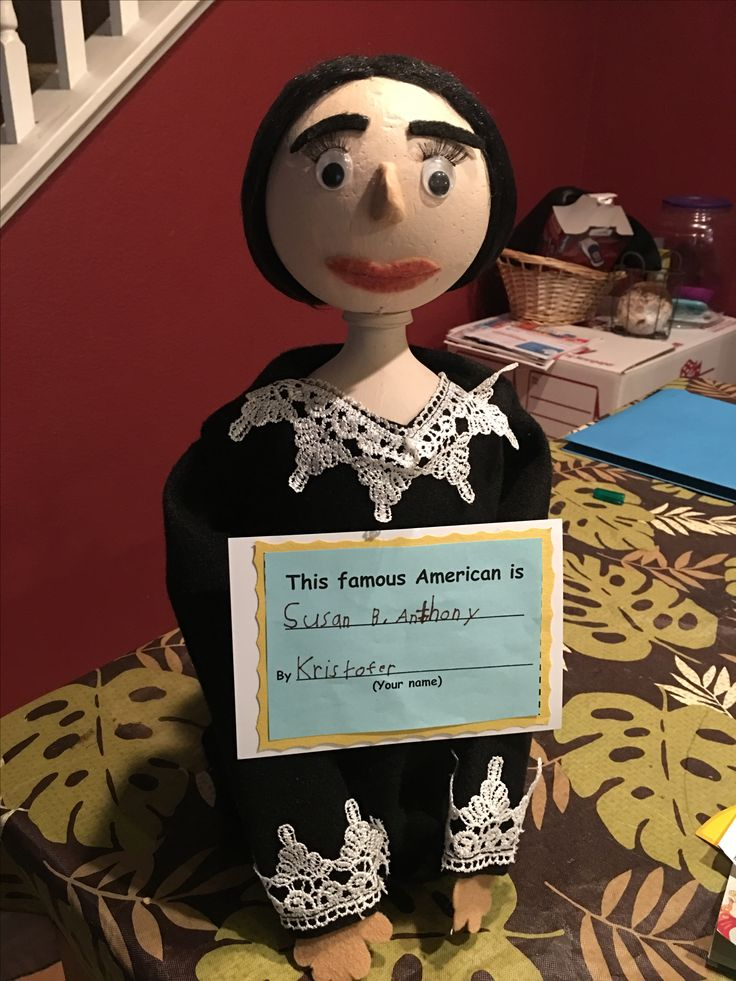 Famous Person Project  Susan B. Anthony