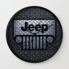 jeep logo Wall Clock