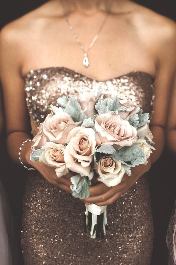 Maid of honor's dress