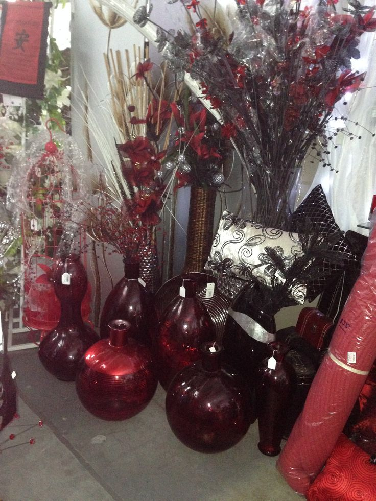 These red vases are delicious, we all wanted to take them home! Seriously ridiculous prices, they will walk out the door.... come in and get yours now 3/14 Glasson Drive Bethania