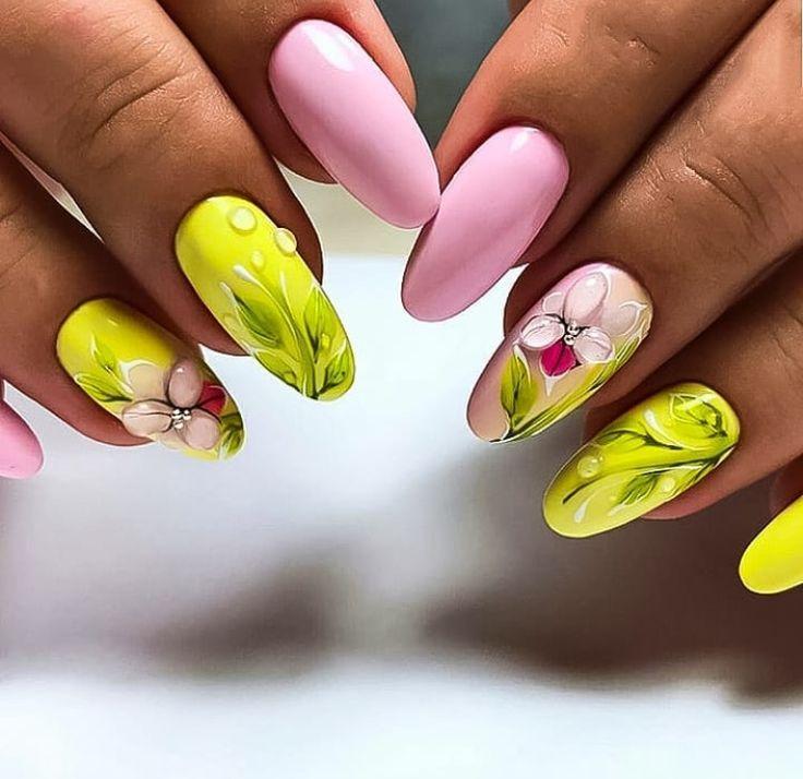 картинки ногтей дизайн на весну вам для