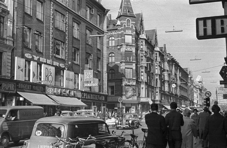 Vesterbrogade szemben a Stenosgade torkolata.