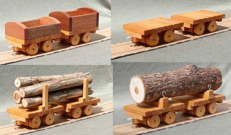 Toy Train Wooden Plans