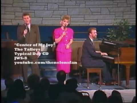 The Talleys , Kirk Tallet, Debra Talley, & Roger Talley singing Gloria Gaither Song. Such beautiful harmony that is unreal, something only God could Bless!