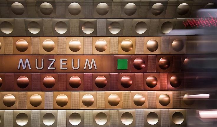 #Metro station #Prague #Europe
