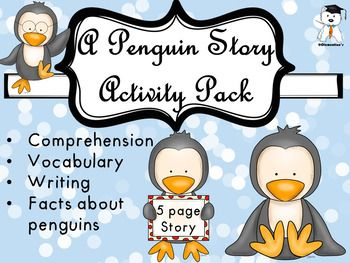 Hey, friends!I put a lot of love and energy in this penguin pack. Its one of my dearest creations. I do hope that your children will like it and that they will learn more about penguins with the help of the story but also improve (or prove) their comprehension, vocabulary, writing, and why not, drawing skills.
