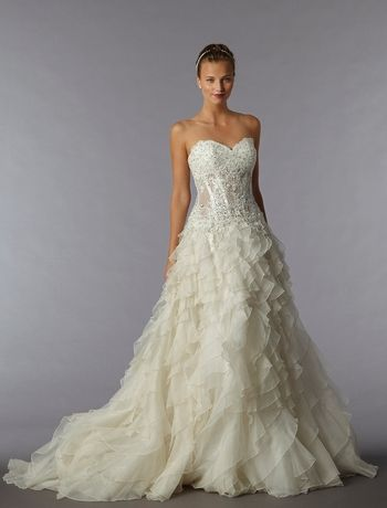 115 best images about pnina tornai on pinterest for Largest selection of wedding dresses