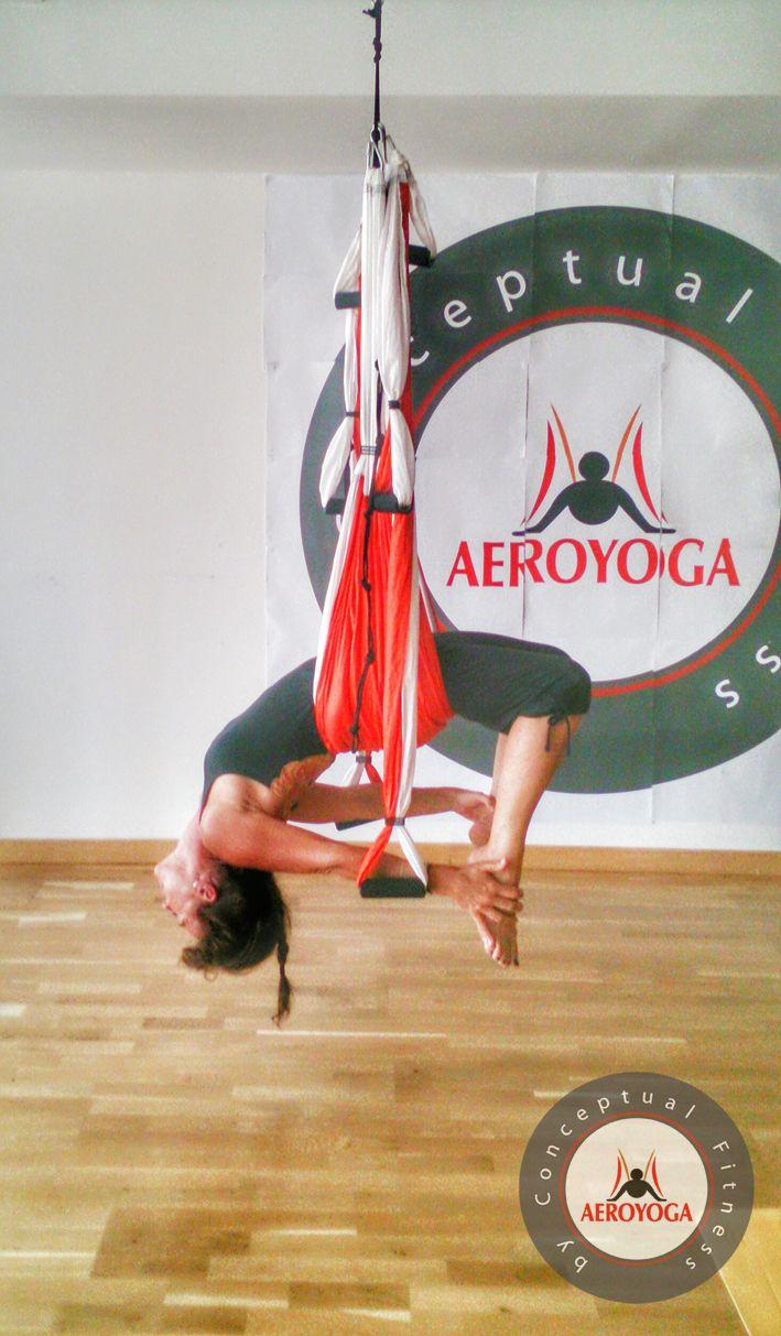 YOGA AERIEN #Fitness #rafaelmartinez #teacherstraining #gym #INVERSIONS…