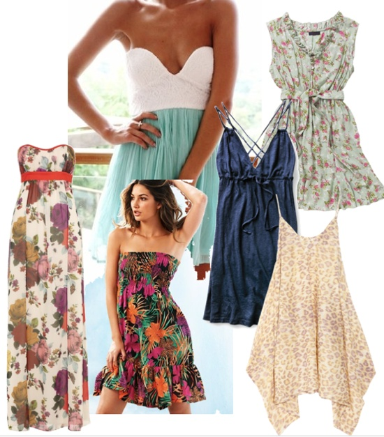 dressses all summer long <3