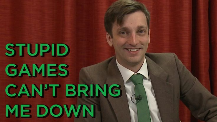 Stupid Games Can't Bring Me Down - The Final Bosman