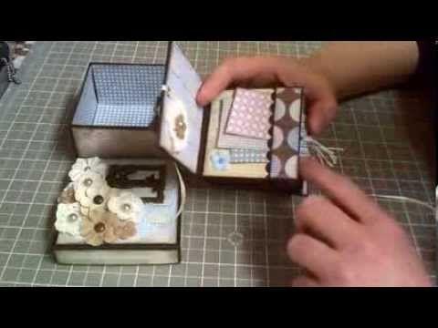 ▶ Mini book in a box! - YouTube