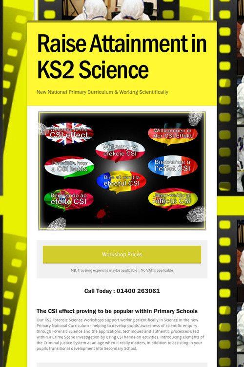 Raise Attainment in KS2 Science #STEM #workingscientifically www.pulsecsi.com