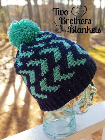 Free Crochet Pattern- Halifax Hat! – Two Brothers Blankets