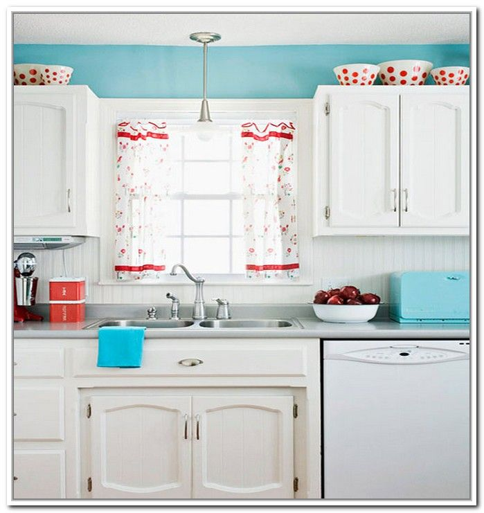 Kitchen Curtains With White Cabinets: 25+ Best Ideas About Red And White Curtains On Pinterest