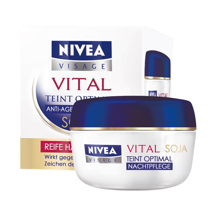 NIVEA TEINT OPTIMAL ANTI-AGE NACHTPFLEGE