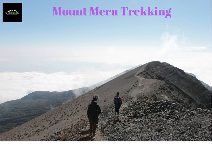 Mount Meru, the second highest mountain in Tanzania, stands 4566 meters high. During cloudless skies, you may be lucky to glimpse Kilimanjaro from the summit. The full climb can be attempted within 3 days; however, we would highly recommend the 4 day trekking option. An ideal option for training and acclimatization for a successive Kilimanjaro climb. For more. ✉️ E-mail - info@shah-tours.com ☎ Call us - +255 (0)787 141052