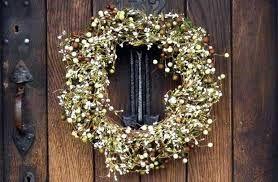 Resultado de imagen para Como Realizar una corona de bienvenida Para Una puerta